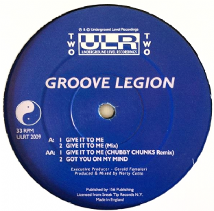 "Groove Legion ‎- Give It To Me (12"") (G/NM)"